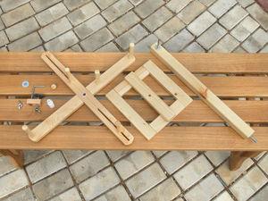 Сборка моталки для пасм. Ярмарка Мастеров - ручная работа, handmade.