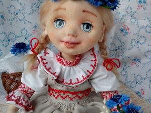 Новая куколка в моём магазине. Ярмарка Мастеров - ручная работа, handmade.