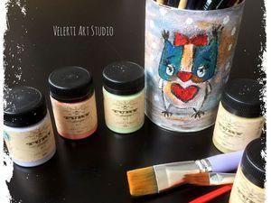 Новая палитра акриловых красок от финской марки