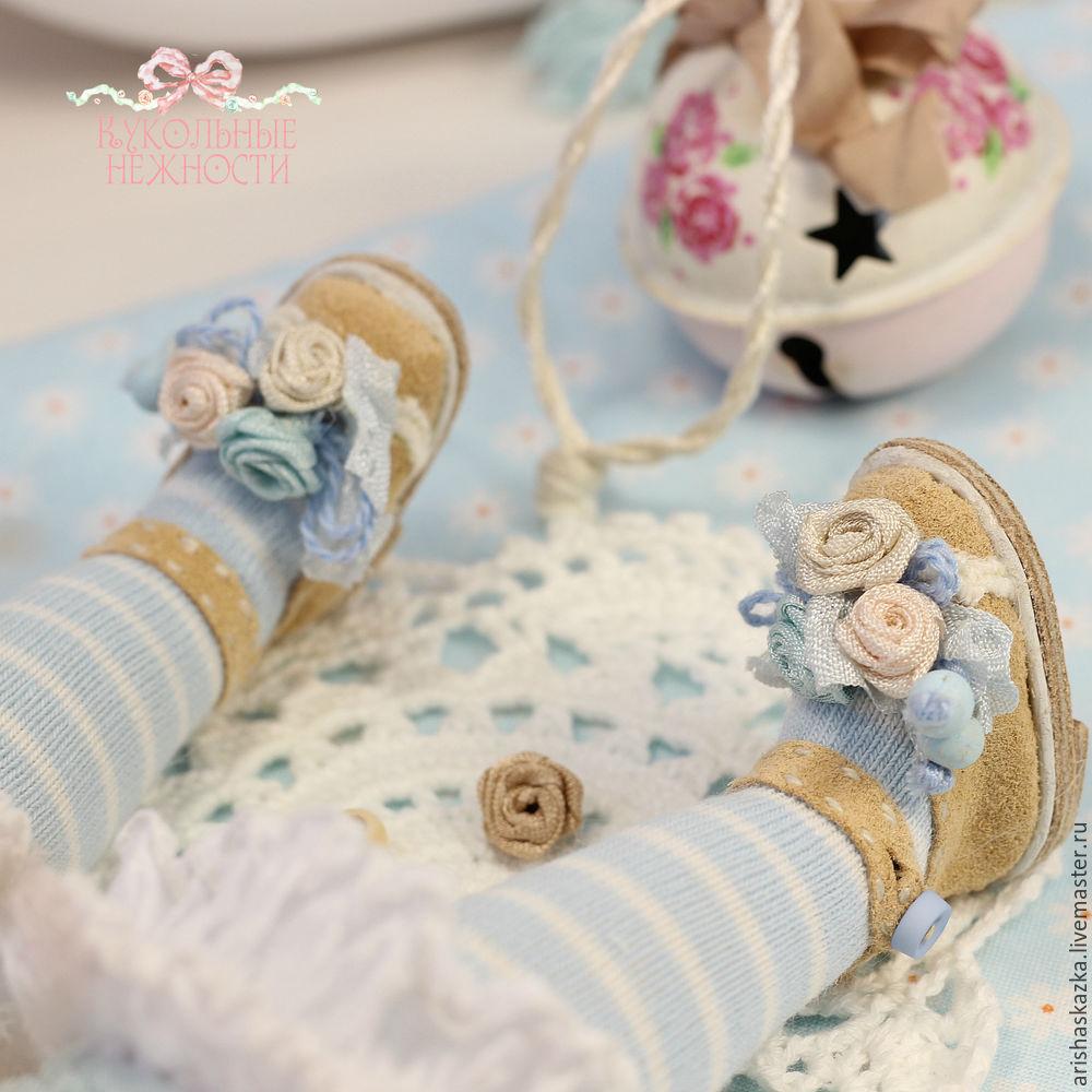 куклы, урок по кукле, миниатюра для куклы, кукольные нежности, коллекционная кукла, мастер-классы, шебби ленты, шебби стиль, по обуви