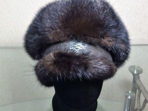 Как сделать берет из меховой шапки-ушанки. Ярмарка Мастеров - ручная работа, handmade.
