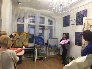 Открылась выставка Батика учеников наших Мастер-классов.. Ярмарка Мастеров - ручная работа, handmade.