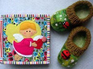 Новая книжечка Ангелочек с сердечком в Мягких людях | Ярмарка Мастеров - ручная работа, handmade