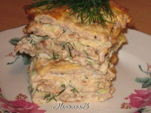 Яично-мясной Тортик | Ярмарка Мастеров - ручная работа, handmade