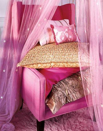 мини-манекен, розовый, текстильный цветок, атлас