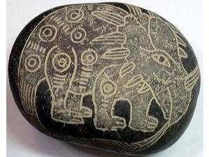 Драконы древнего мира, или Загадочные камни Ики. Ярмарка Мастеров - ручная работа, handmade.