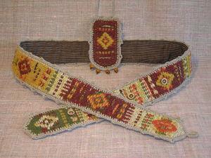 Создаём тканый пояс, часть вторая. Ярмарка Мастеров - ручная работа, handmade.