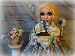 Новая кукла уже в магазине Мариэтта, маленькая Мария   Ярмарка Мастеров - ручная работа, handmade