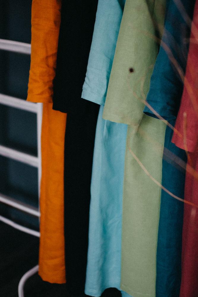 мои мечты, льняное платье, шерсть, платье изо льна, миди, свободная одежда