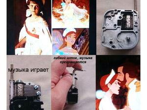 Анастасия музыкальный механизм гибкий шток. Ярмарка Мастеров - ручная работа, handmade.