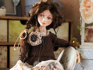 Необыкновенный мир интерьерных кукол. Ярмарка Мастеров - ручная работа, handmade.