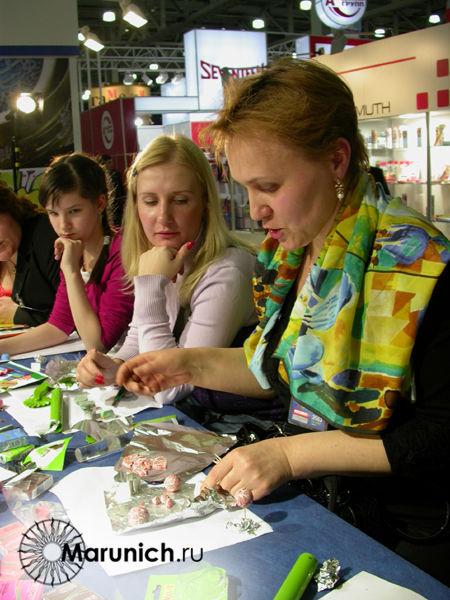 Мастер-класс по полимерной глине в москве, работа с поталью, украшения своими руками