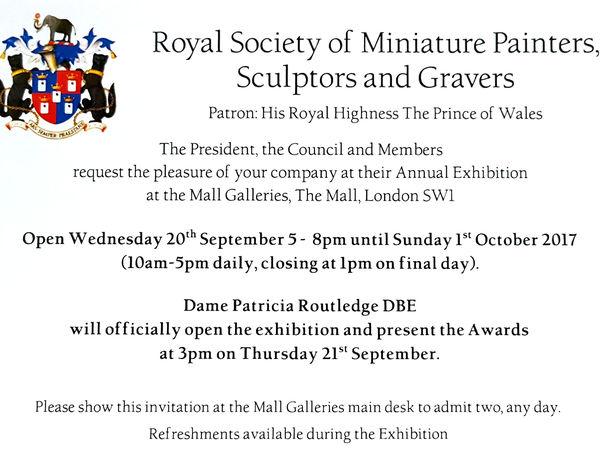 Выставка Королевского Общества миниатюристов | Ярмарка Мастеров - ручная работа, handmade