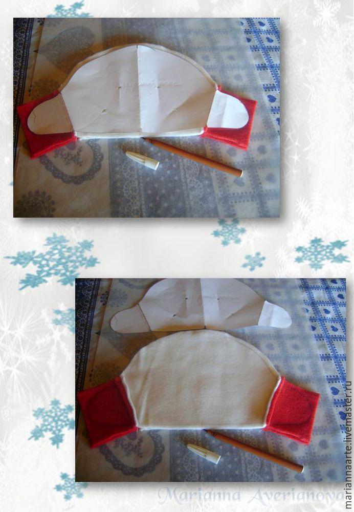 Мастер-класс по созданию забавной новогодней игрушки «Снеговичок-тюфячок», фото № 6