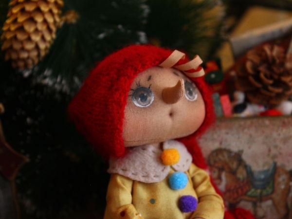 Шьем маленького Буратино   Ярмарка Мастеров - ручная работа, handmade
