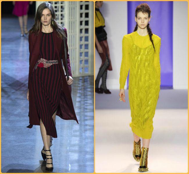 604b8ce9a3c Трикотаж с люрексом — это модно!Тренд сезона 2017  вязаные платья с ...