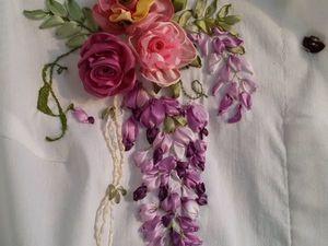 На вышивку блузок скидка 15% | Ярмарка Мастеров - ручная работа, handmade