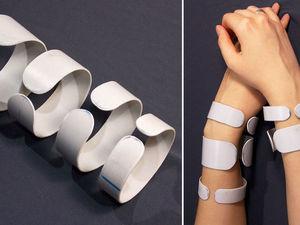 Делаем основу для браслета из пластиковой трубы: видео мастер-класс. Ярмарка Мастеров - ручная работа, handmade.