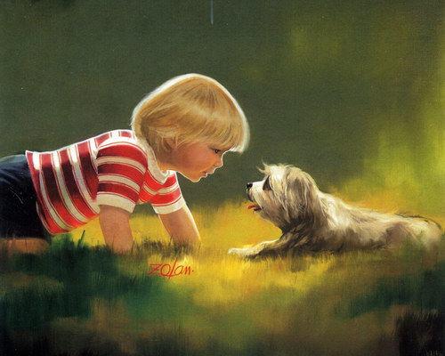 Дети :: Художник Donald Zolan фото 7