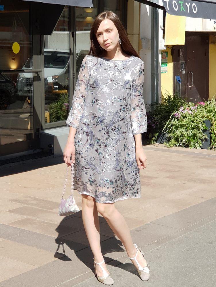 шелковое платье, платье легкое, платье на выход