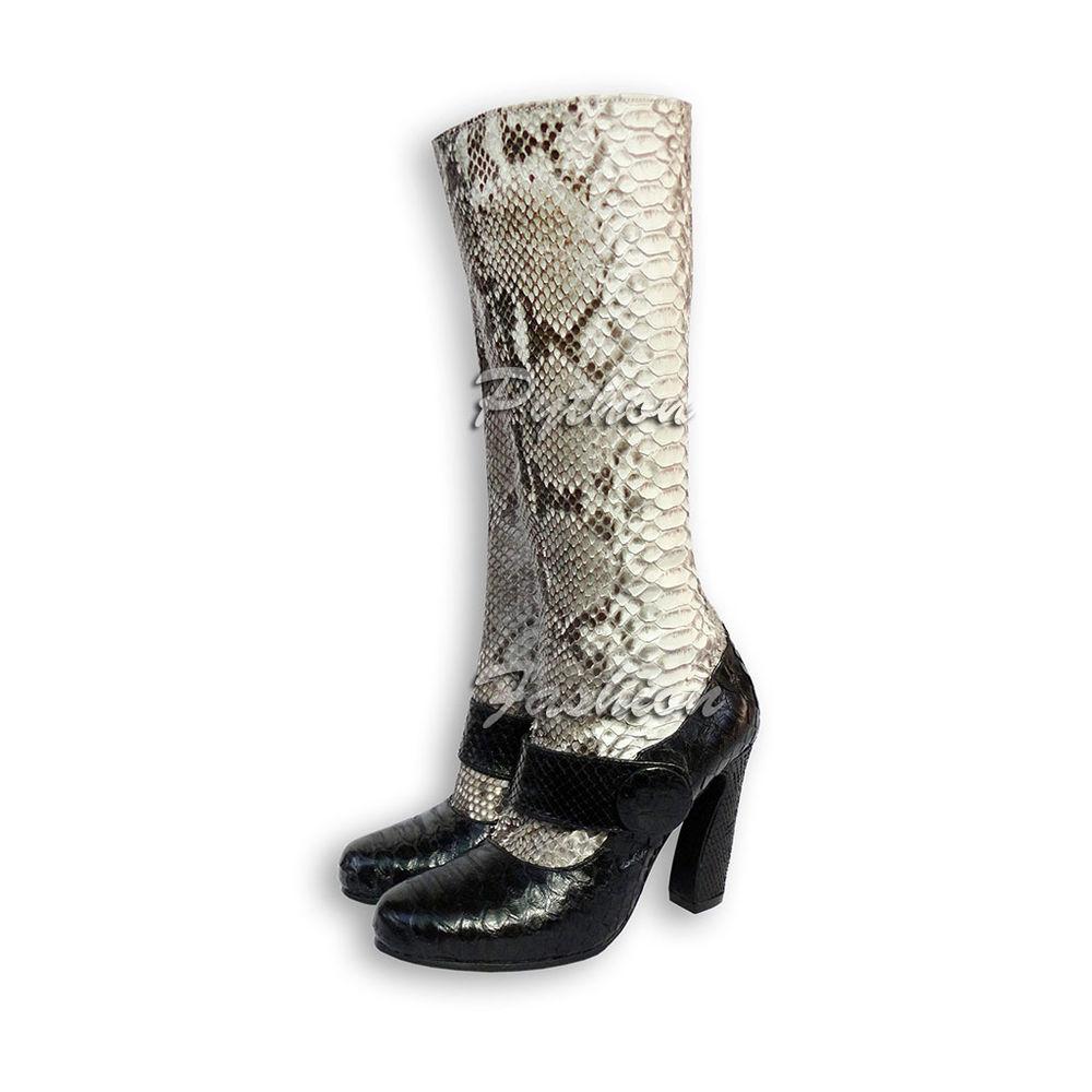 сапоги, питон, новинка, на заказ, обувь ручной работы, индивидуальный заказ, женская мода, новости магазина, новая модель