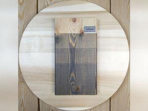 Видеокаталог цветных масел для дерева GAPPA. Цвет 0020 — Серый матовый. Ярмарка Мастеров - ручная работа, handmade.