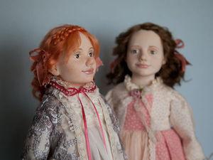 Девочки-сестрички   Ярмарка Мастеров - ручная работа, handmade