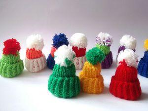 Гирлянда из мини шапочек!!!   Ярмарка Мастеров - ручная работа, handmade