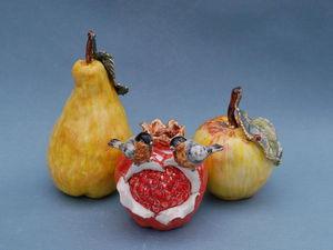 Фарфоровые фрукты снова в наличии ! | Ярмарка Мастеров - ручная работа, handmade