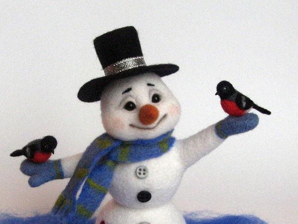 Поддержите снеговичка в конкурсе