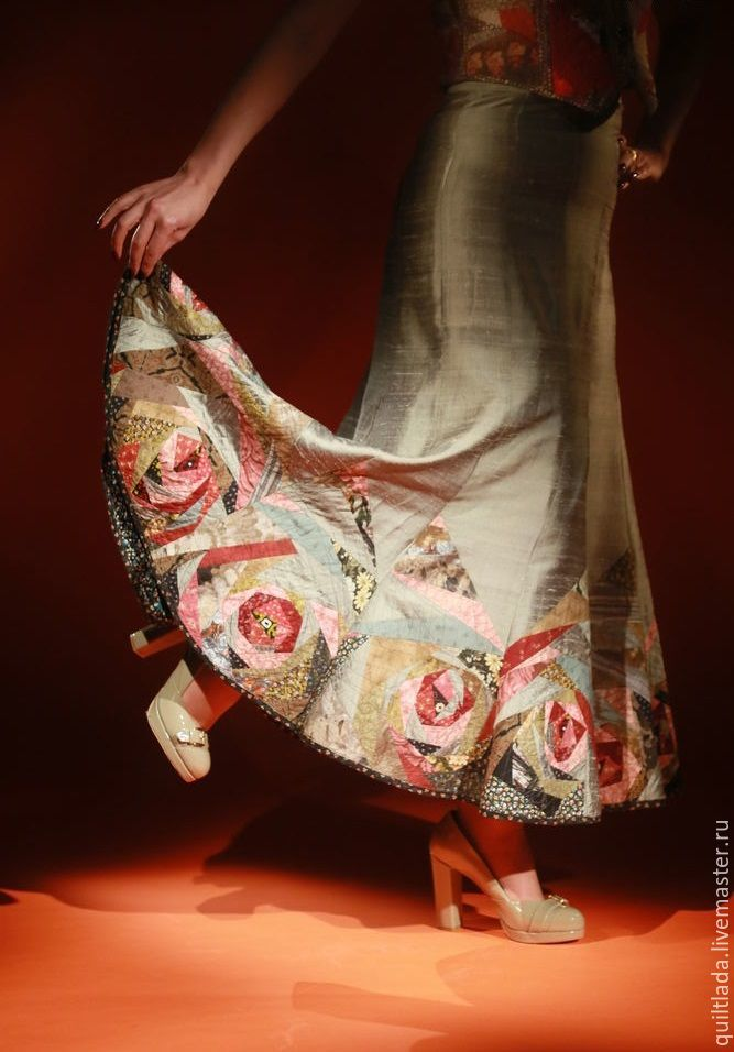 юбка длинная, хлопок япония