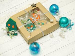 Создаём новогодние игрушки-подвески «Домики». Ярмарка Мастеров - ручная работа, handmade.