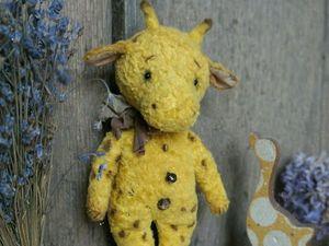 Маленький жираф Мо (15см.). Ярмарка Мастеров - ручная работа, handmade.