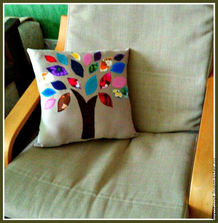 Декоративные подушки своими руками мастер класс фото 948