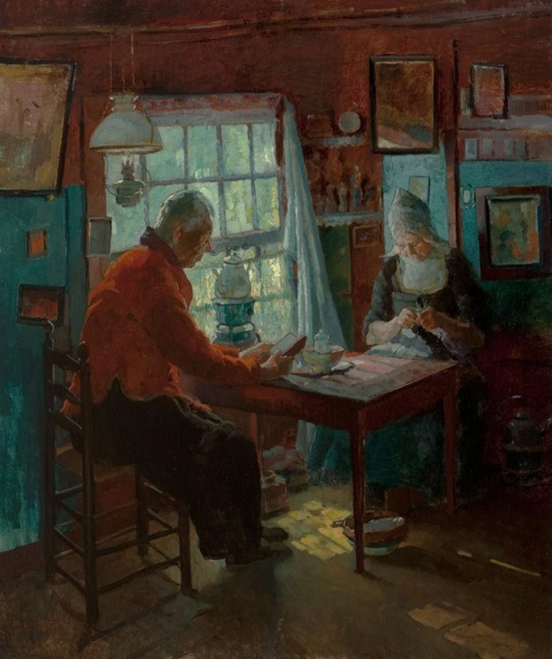 Когда есть чем заняться — стареть некогда: душевные картины о бабушках-рукодельницах, фото № 64
