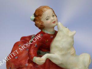 Девочка собака Home Again Royal Doulton 39 | Ярмарка Мастеров - ручная работа, handmade