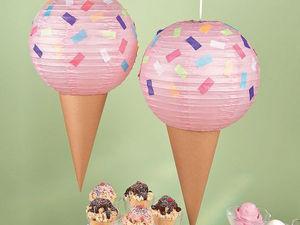 Вечеринка в стиле Ice Cream. Ярмарка Мастеров - ручная работа, handmade.