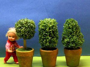 Новые миниатюры для кукольного сада, дома.. Ярмарка Мастеров - ручная работа, handmade.