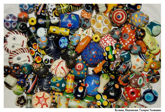 индонезия, музей бусин, галерея тасмания, бусины, лэмпворк