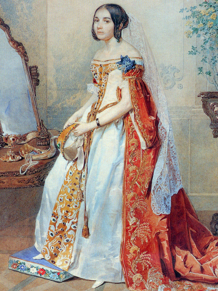 Придворное форменное платье. Часть 1, фото № 13