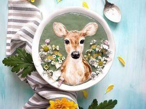 Прекрасные и недолговечные. Рисунки в чашках от Hazel Zakariya. Ярмарка Мастеров - ручная работа, handmade.