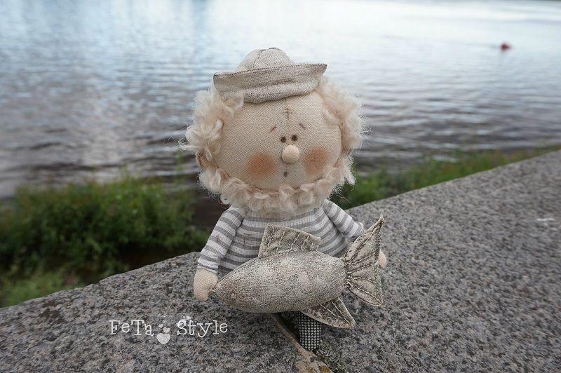 рыба, маленькая кукла