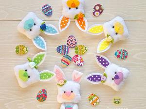 Пасхальные кролики. Ярмарка Мастеров - ручная работа, handmade.