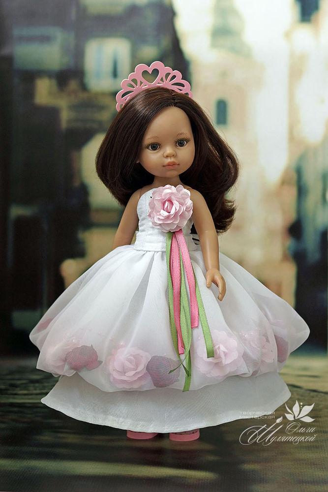 бальное платье кукле
