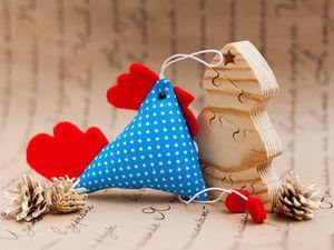 Шьем текстильного петушка | Ярмарка Мастеров - ручная работа, handmade