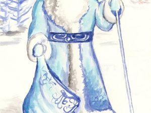 Дедушка Мороз. Предновогоднее настроение. Моё детство. Ярмарка Мастеров - ручная работа, handmade.