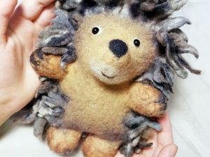 10 февраля - валяем лисичек, ёжиков и птиц! Приглашаю на мастер-класс по мокрому валянию игрушек. Ярмарка Мастеров - ручная работа, handmade.