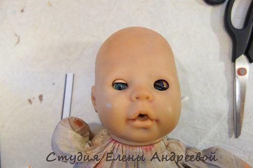 глаза виниловой кукле