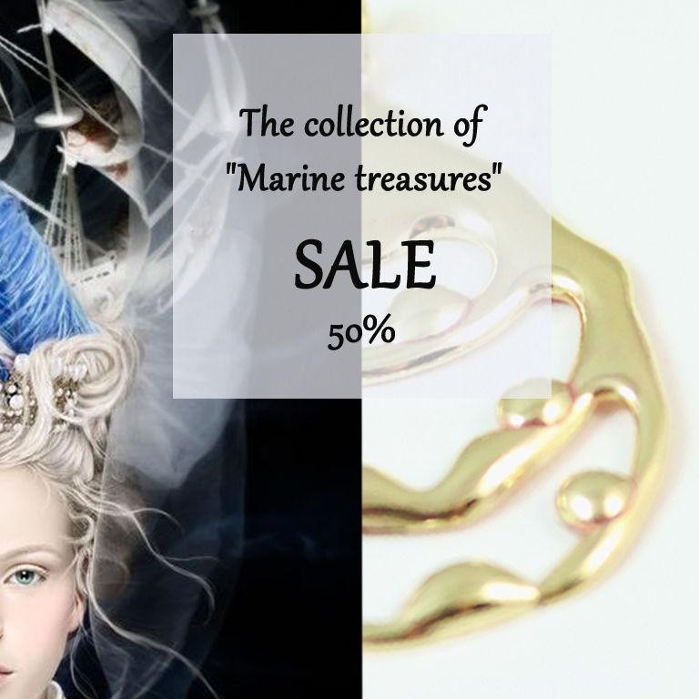 распродажа украшений, кулон, жемчуг, морские сокровища, кольцо
