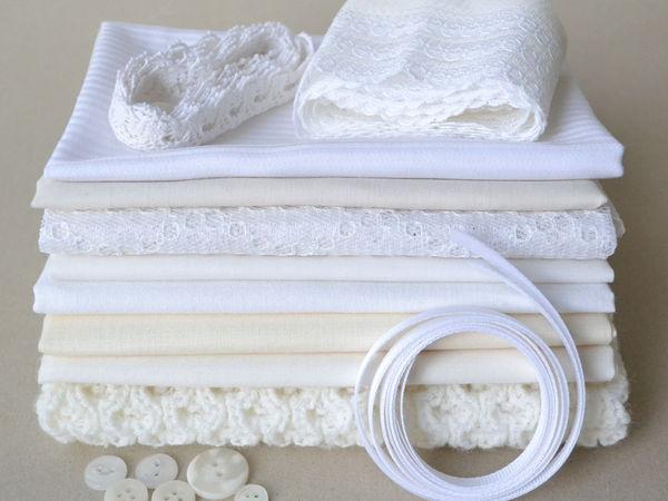 Коллекция белых наборов для творчеста   Ярмарка Мастеров - ручная работа, handmade